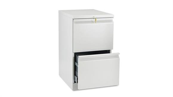 """Mobile File Cabinets HON 20"""" D Two Drawer Mobile File"""