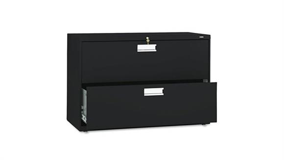 "File Cabinets Lateral HON 42""W x 19-1/4""D Two-Drawer Lateral File"