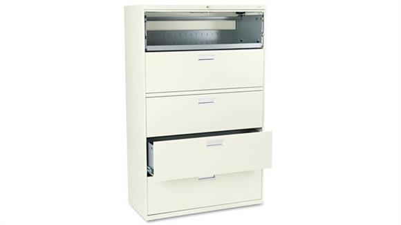 """File Cabinets Lateral HON 42"""" W x 19-1/4"""" D Five-Drawer Lateral File"""