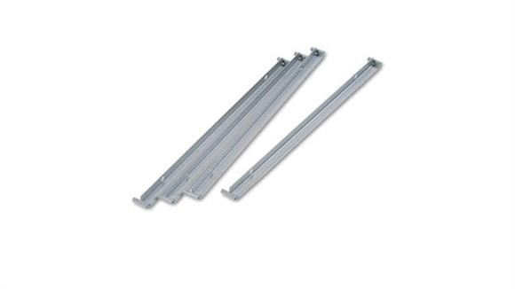 "File Cabinets Lateral HON Single Cross Rails for 30"" and 36"" Lateral Files - 4/PK"