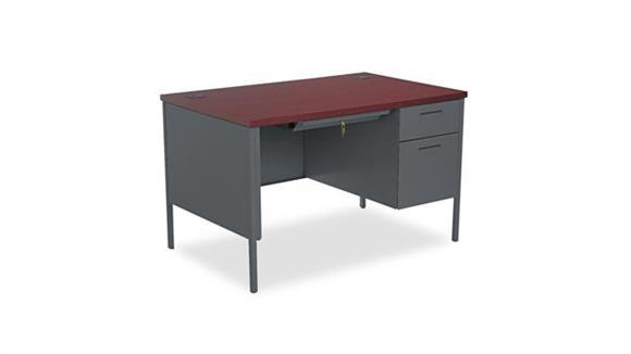"""Executive Desks HON 48""""W x 30""""D x 29-1/2""""H Right Pedestal Desk"""