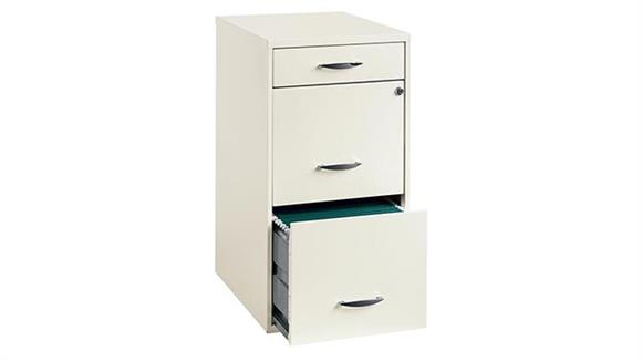 File Cabinets Vertical Hirsh Industries 3 Drawer Letter Size Vertical File Cabinet