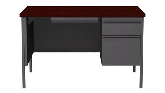 "Executive Desks Hirsh Industries 30"" x 48"" Single Pedestal Desk"