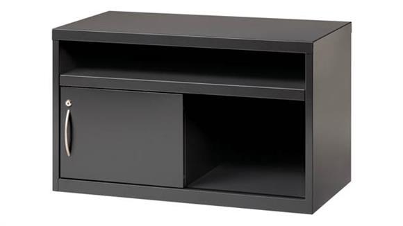 "Storage Cabinets Hirsh Industries 36""W Credneza Sliding Door Cabinet"