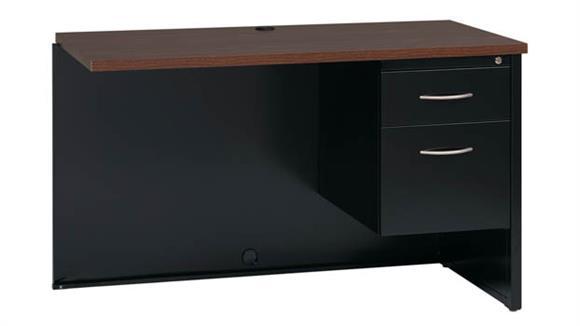 "Desk Parts & Accessories Hirsh Industries 24"" x 48"" Right Hand Return Desk"