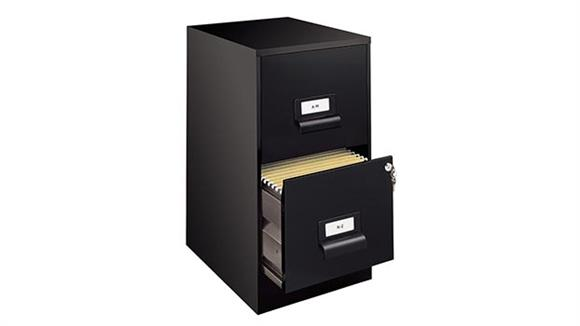 File Cabinets Vertical Hirsh Industries 2 Drawer Letter Size Vertical File Cabinet