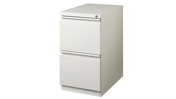 "File Cabinets Vertical Hirsh Industries 2 Drawer Mobile Pedestal - 20""D"
