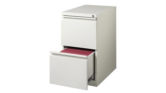 "File Cabinets Vertical Hirsh Industries 2 Drawer Mobile Pedestal - 23""D"