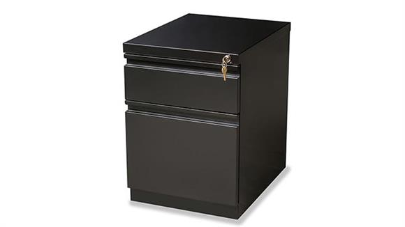 "File Cabinets Vertical Hirsh Industries 2 Drawer Mobile Pedestal - 20""D"