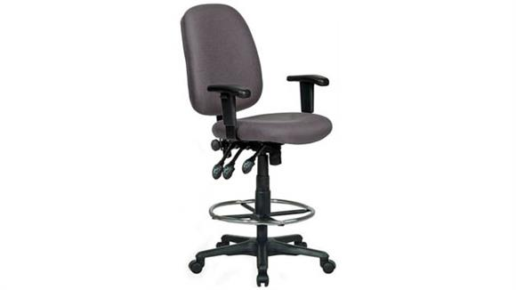 Drafting Stools Harwick Chairs Extra Tall Ergonomic Drafting Chair