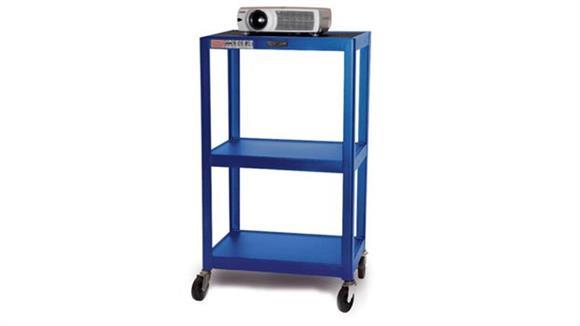 AV Carts H Wilson Colored Steel Utility Cart