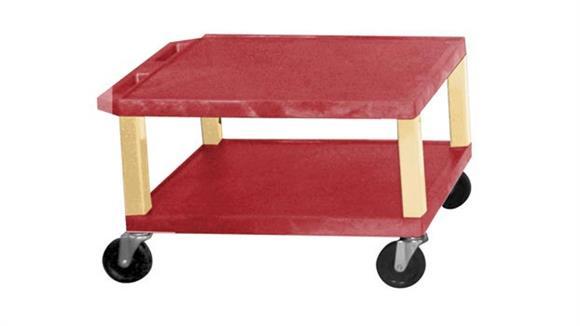 "AV Carts H Wilson 16"" Colored Tuffy Cart"