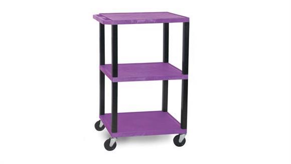"AV Carts H Wilson 42"" Colored Tuffy Cart"