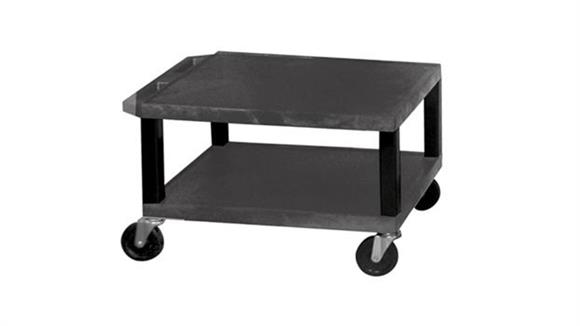 "AV Carts H Wilson 16"" Black Tuffy Cart"