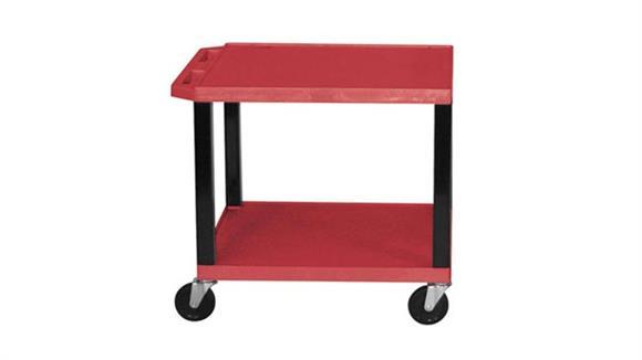"AV Carts H Wilson 26"" Colored Tuffy Cart"