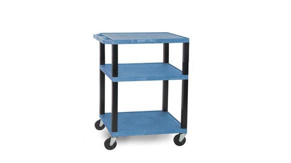 "AV Carts H Wilson 34"" Colored Tuffy Cart"