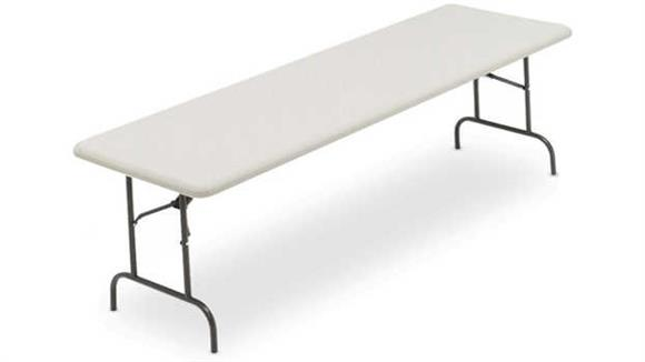 "Folding Tables Iceberg 96"" x 30"" Folding Table"