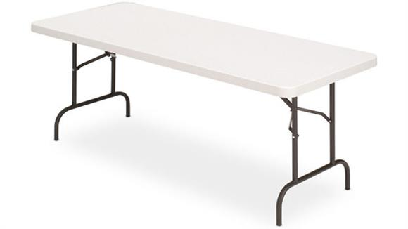 "Folding Tables Iceberg 60""W x 30""D Heavy Duty Folding Table"