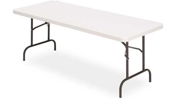 "Folding Tables Iceberg 72"" x 30"" Heavy Duty Folding Table"