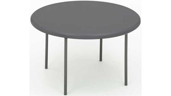 "Folding Tables Iceberg 48"" Round Heavy Duty Folding Table"