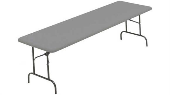 "Folding Tables Iceberg 96"" x 30"" Heavy Duty Folding Table"