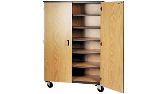 "Storage Cabinets Ironwood 48""W x 22""D Mobile Storage Cabinet"