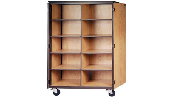 Storage Cabinets Ironwood Cubicle Mobile Storage Cabinet