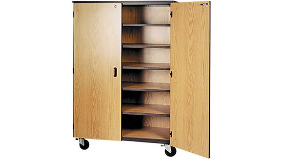 "Storage Cabinets Ironwood 48""W x 25""D Mobile Storage Cabinet"