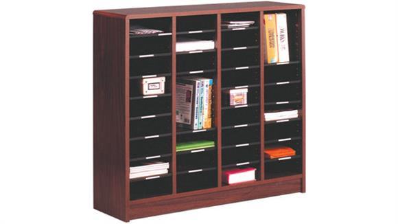 Desk Organizers Ironwood 36 Compartment Literature Organizer