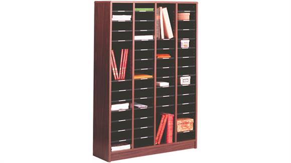 Magazine & Literature Storage Ironwood 60 Compartment Literature Organizer