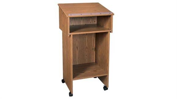 Podiums & Lecterns Ironwood Two Section Lectern