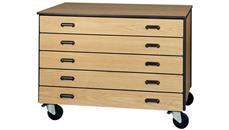 Storage Cabinets Ironwood 5 Drawer Mobile Storage Cart