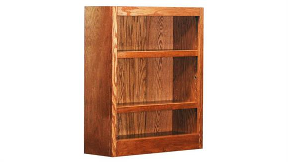 Bookcases Concepts in Wood 3 Shelf Bookcase