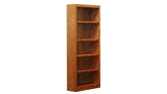 Bookcases Concepts in Wood 5 Shelf Bookcase