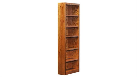 Bookcases Concepts in Wood 6 Shelf Bookcase