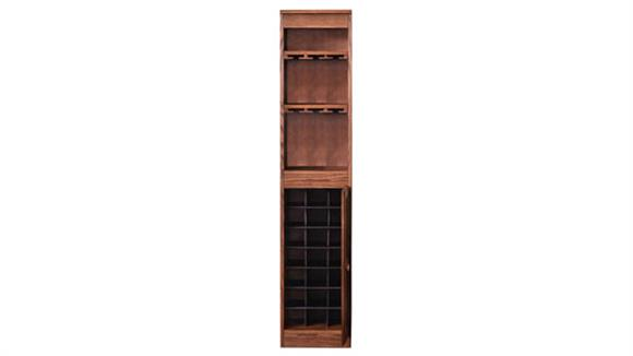 Wine Storage Concepts in Wood Wine Cabinet
