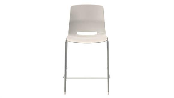 """Stacking Chairs KFI Seating 25"""" Stacking Office Counter Stool"""