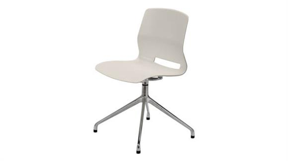 Office Chairs KFI Seating 4-Post Swivel Office Chair