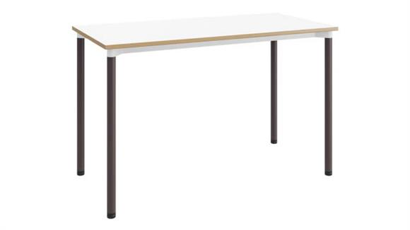 "Computer Desks KFI Seating 24""D x 48""W Office Desk"