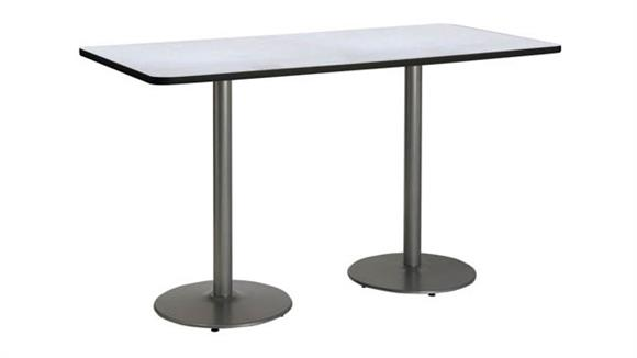 "Conference Tables KFI Seating 30"" x 72"" Pedestal Table"