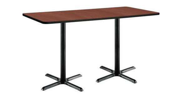 "Conference Tables KFI Seating 30""x 72"" Pedestal Table"