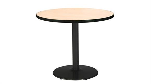 "Cafeteria Tables KFI Seating 30"" Round Table"