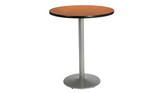 "Cafeteria Tables KFI Seating 30"" Round Table, Bistro Height"