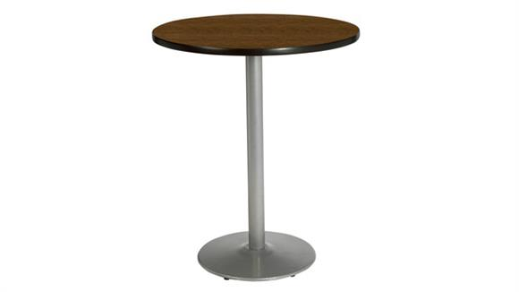 """Cafeteria Tables KFI Seating 30"""" Round Table, Bistro Height"""