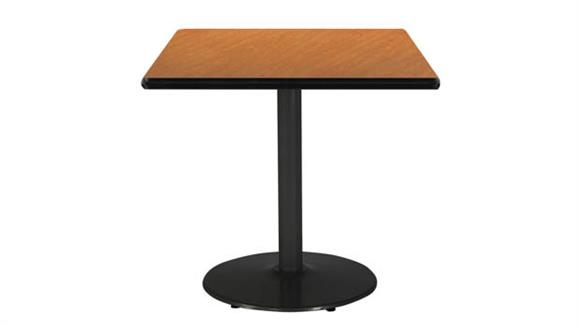"Cafeteria Tables KFI Seating 30"" Square Table"