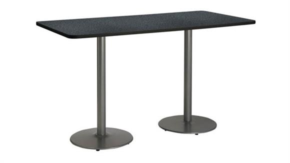 """Conference Tables KFI Seating 36"""" x 72"""" Pedestal Table"""
