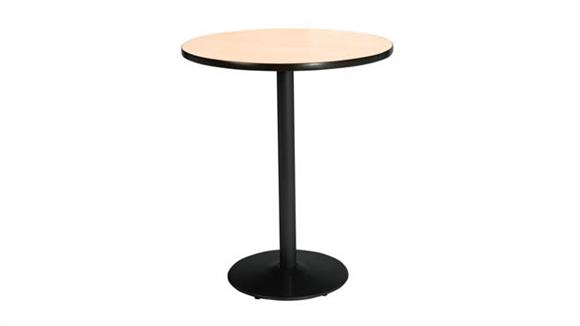 """Cafeteria Tables KFI Seating 36"""" Round Table, Bistro Height"""
