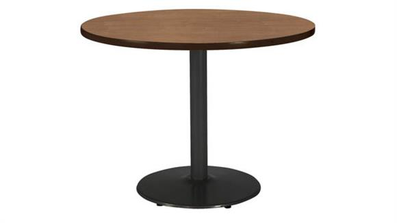 """Cafeteria Tables KFI Seating 36""""H x 42"""" Diameter Breakroom Table, Round Base"""