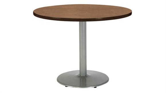 """Cafeteria Tables KFI Seating 36""""H x 42"""" Diameter Round Breakroom Table, Round Base"""