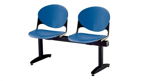 Side & Guest Chairs KFI Seating Beam 2 Seat Bench